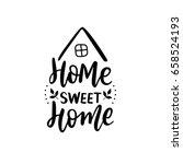 hand lettering print for... | Shutterstock .eps vector #658524193