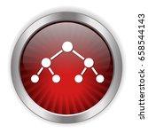 network icon | Shutterstock .eps vector #658544143