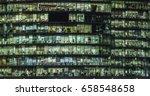 corporate employees in an... | Shutterstock . vector #658548658