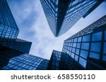 office building in paris | Shutterstock . vector #658550110