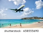 st maarten  netherlands  ... | Shutterstock . vector #658555690