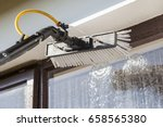 equipment for washing and... | Shutterstock . vector #658565380