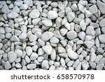 White Small Stones Background ...