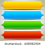 button  banner shapes ... | Shutterstock .eps vector #658582504