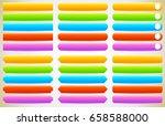 button  banner shapes ... | Shutterstock .eps vector #658588000