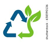 icon for waste treatment that... | Shutterstock .eps vector #658590136