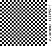 black and white seamless... | Shutterstock .eps vector #658595344