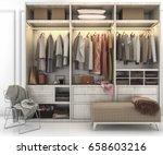 3d rendering minimal... | Shutterstock . vector #658603216