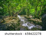 view of trees and water in... | Shutterstock . vector #658622278