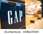 Small photo of HONG KONG - CIRCA SEPTEMBER, 2016: close up shot of GAP sign in Hong Kong. GAP is an American worldwide clothing and accessories retailer.