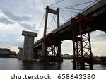 bridge construction | Shutterstock . vector #658643380