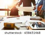 architect engineering...   Shutterstock . vector #658651468