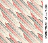 seamless diagonal stripe... | Shutterstock .eps vector #658676608