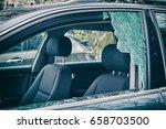 a criminal incident. hacking... | Shutterstock . vector #658703500