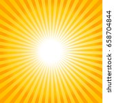 abstract background with sun... | Shutterstock .eps vector #658704844