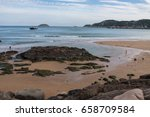 the beach at go'qi island  one... | Shutterstock . vector #658709584