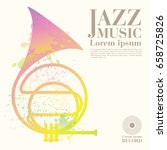 jazz vector art | Shutterstock .eps vector #658725826