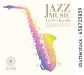 jazz vector art | Shutterstock .eps vector #658725859