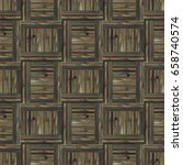 seamless parquet floor texture... | Shutterstock . vector #658740574