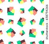vector seamless pattern of...   Shutterstock .eps vector #658754266