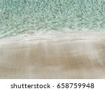 blue crystal water and white... | Shutterstock . vector #658759948
