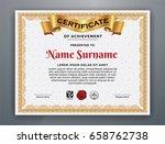 multipurpose modern... | Shutterstock .eps vector #658762738