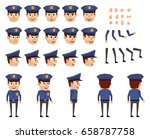 policeman creation set. various ...