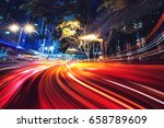 Motion Speed Effect With City...