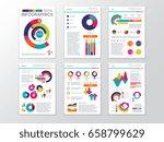 modern business presentation... | Shutterstock .eps vector #658799629