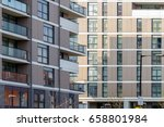 new flats in poplar  east london | Shutterstock . vector #658801984