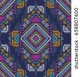 multicolor tribal vector...   Shutterstock .eps vector #658807600