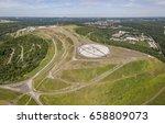 Small photo of Aerial view of Horizon Observatory in Herten, North Rhine-Westphalia, Germany