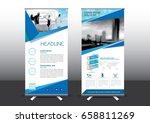roll up template vector... | Shutterstock .eps vector #658811269