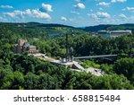 the city of veliko tarnovo is... | Shutterstock . vector #658815484