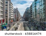 berlin  germany   june 9  2017  ... | Shutterstock . vector #658816474