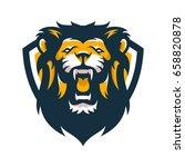 lion animal wild head mascot...   Shutterstock .eps vector #658820878
