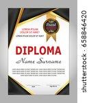 diploma or certificate template.