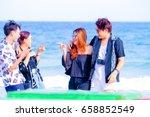 rayong  june 10  2016.ko samet...   Shutterstock . vector #658852549