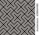 vector seamless cross tiling... | Shutterstock .eps vector #658864480