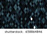 dark black vector abstract... | Shutterstock .eps vector #658864846