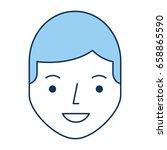 young man avatar character | Shutterstock .eps vector #658865590