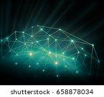 best internet concept of global ... | Shutterstock . vector #658878034
