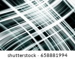 abstract stripes silver... | Shutterstock . vector #658881994