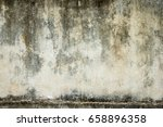 dark grunge textured wall... | Shutterstock . vector #658896358