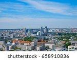 Skyline of West Berlin - cityscape / aerial of Berlin