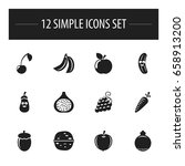set of 12 editable cooking...
