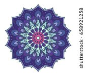mandala. ethnic decorative... | Shutterstock .eps vector #658921258