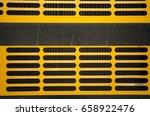 industrial machine grid closeup ... | Shutterstock . vector #658922476