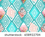 hand drawn vector abstract... | Shutterstock .eps vector #658922704