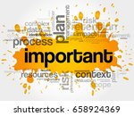 important word cloud collage ...   Shutterstock . vector #658924369